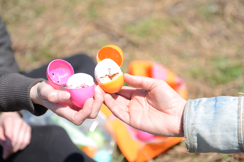 An Easter Egg Hunt on the Farm