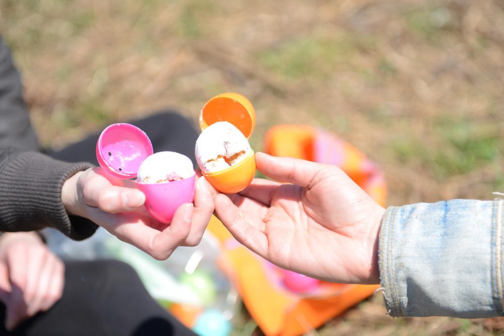 An Easter Egg on the Farm // www.WithTheGrains.com