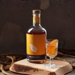Orange Cardamom Honey Cake w/ @WigleWhiskey Landlocked Spiced