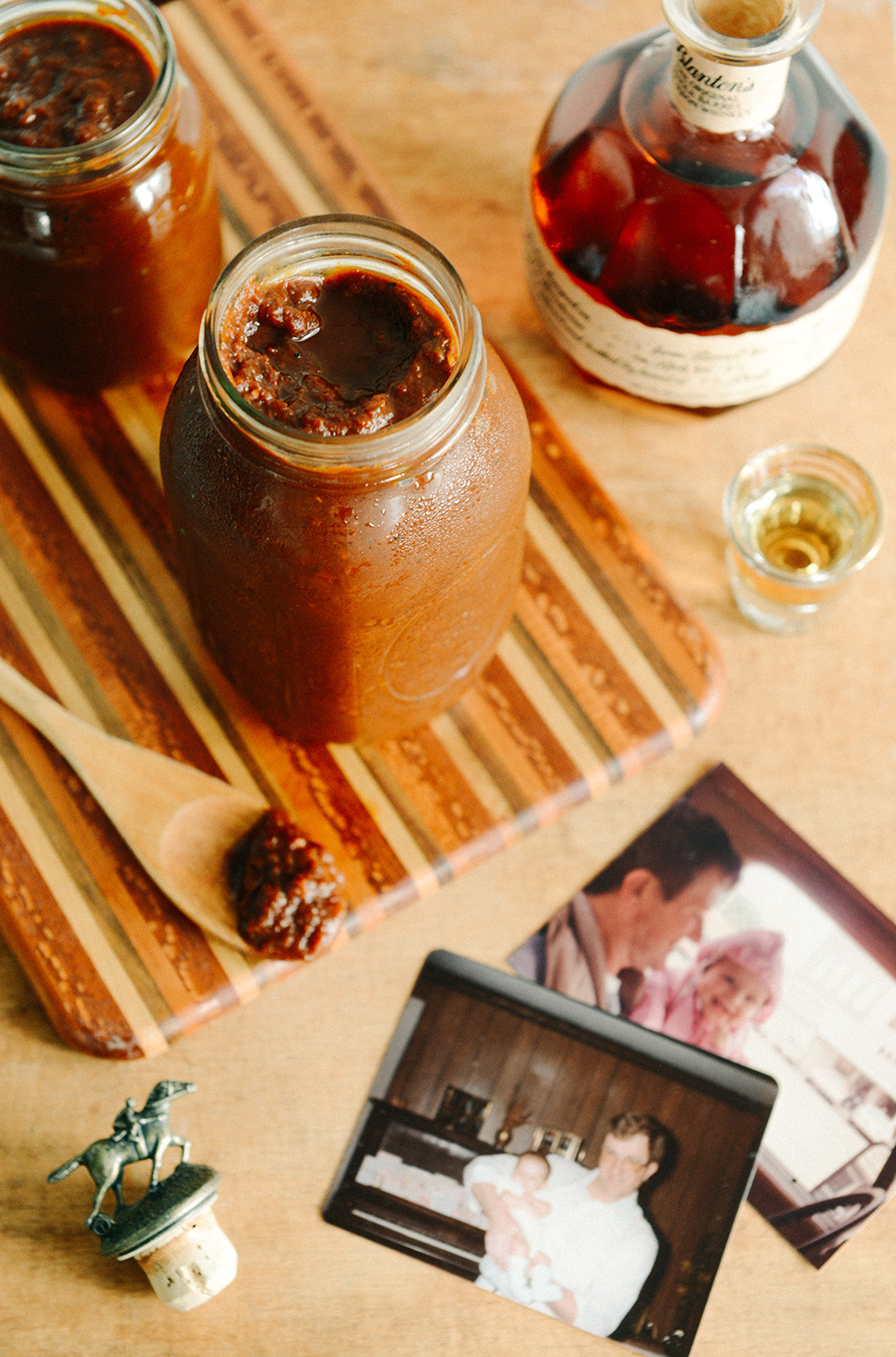 Homemade Bourbon BBQ Sauce // www.WithTheGrains.com