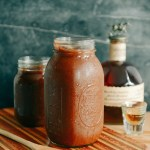 Homemade Bourbon BBQ Sauce & Thoughts for my Dad