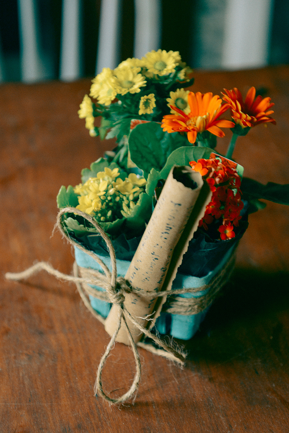 Flowers and Fruit by With The Grains 01