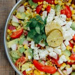Roasted Corn Summer Salad
