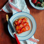 Something Simple: Peanut Butter, Strawberry & Honey Toast