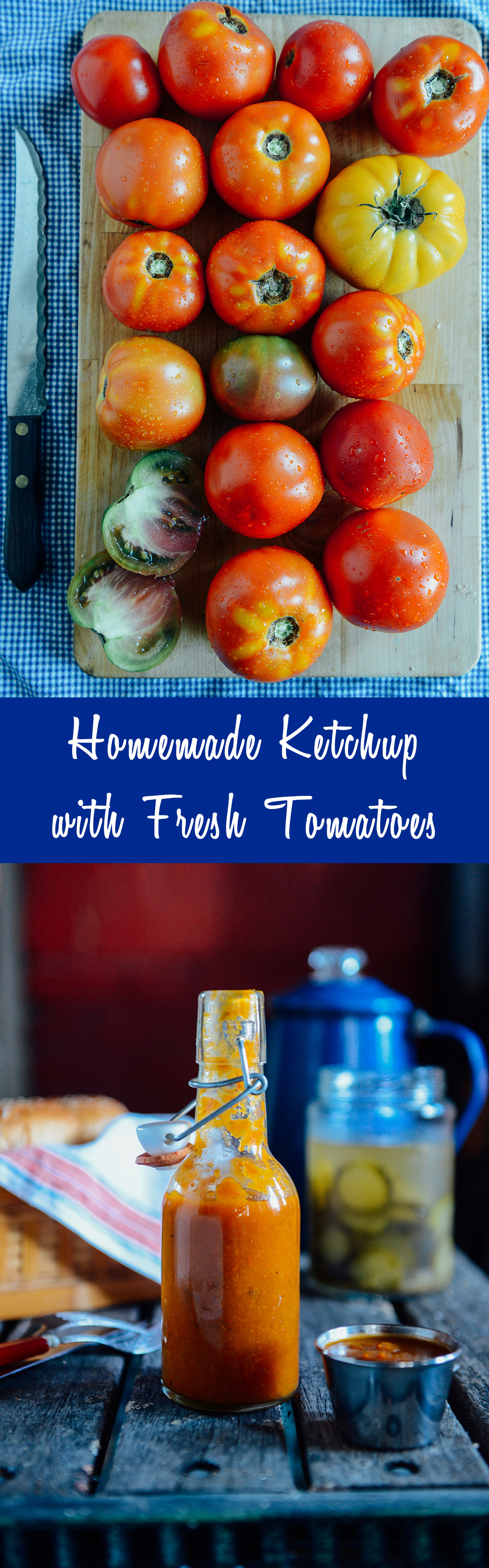 Homemade Ketchup // www.WithTheGrains.com
