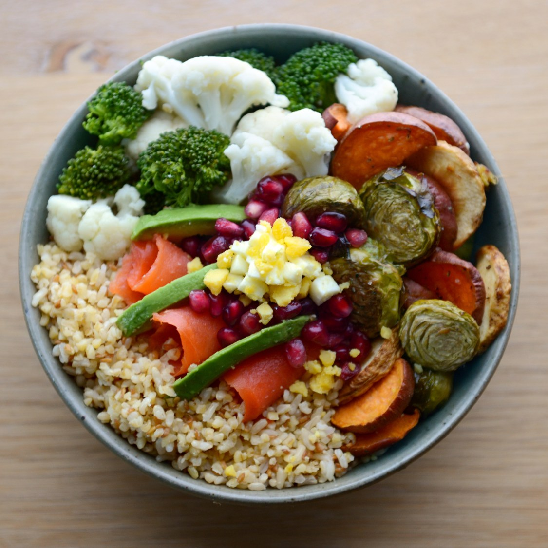 Building a Grain Bowl // www.WithTheGrains.com