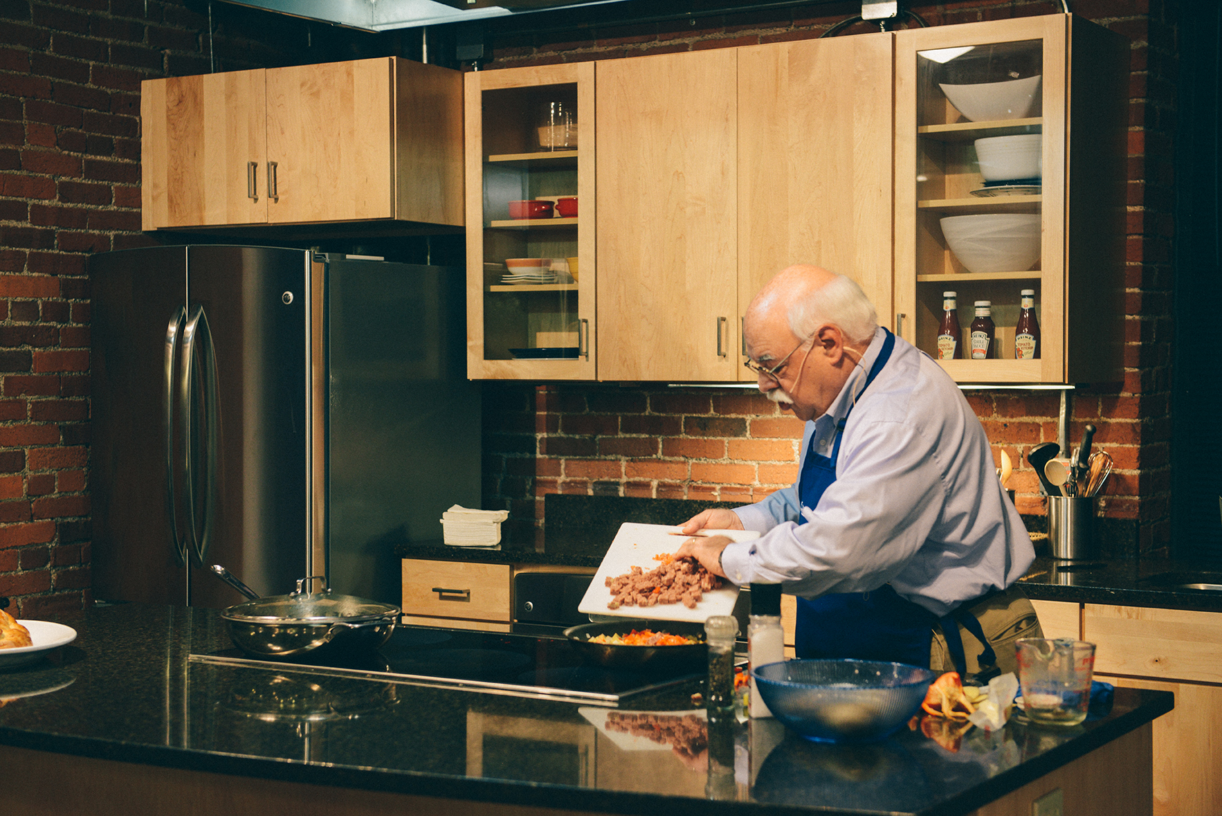 """WWII """"We Can Do It"""" + @WQED Chris Fennimore's Cooking Demo // www.WithTheGrains.com"""