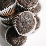 Roasted Beet Chocolate Cupcakes with Raw Cacao (Vegan)