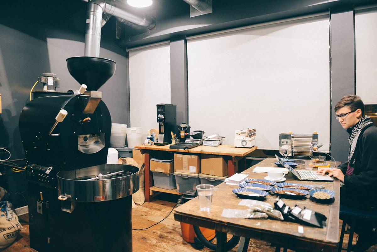 Gaslight Coffee Roasters in Chicago, IL // www.WithTheGrains.com