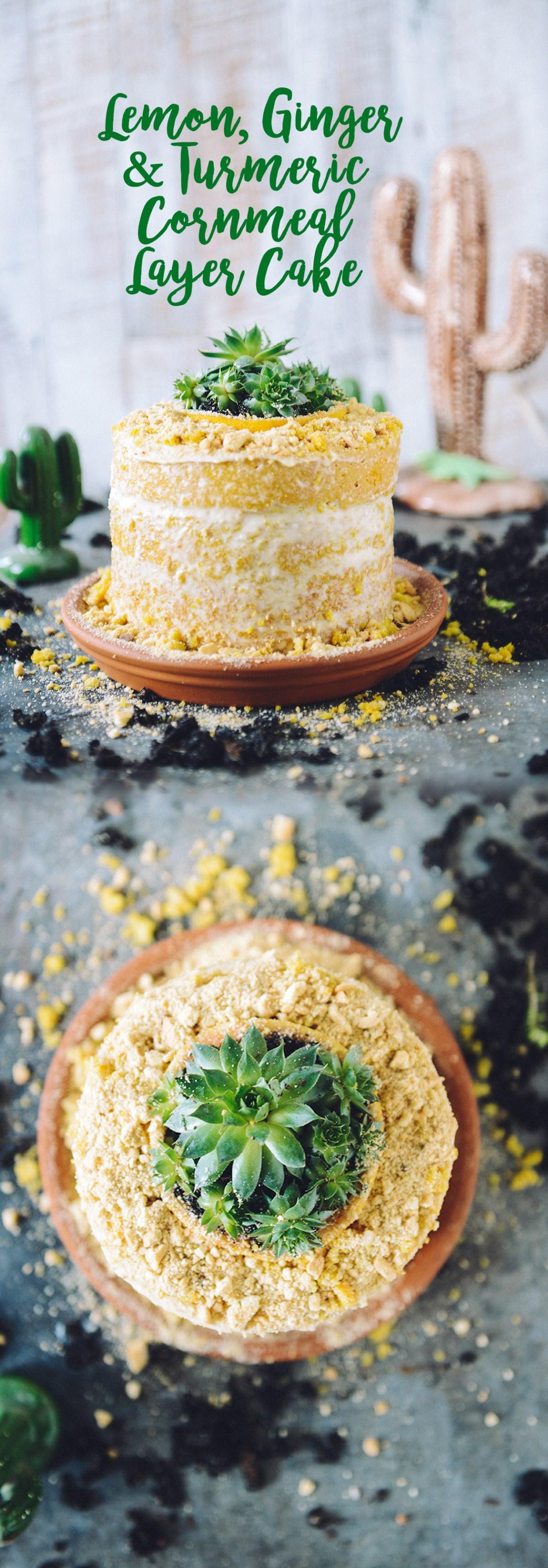 Lemon Desert Cake by With The Grains