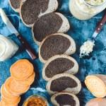 Sweet Potato Reuben Sandwiches (Vegetarian w/ Vegan Option)