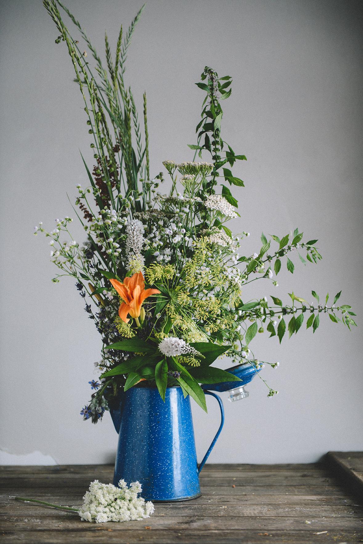 Wildflowers // www.WithTheGrains.com