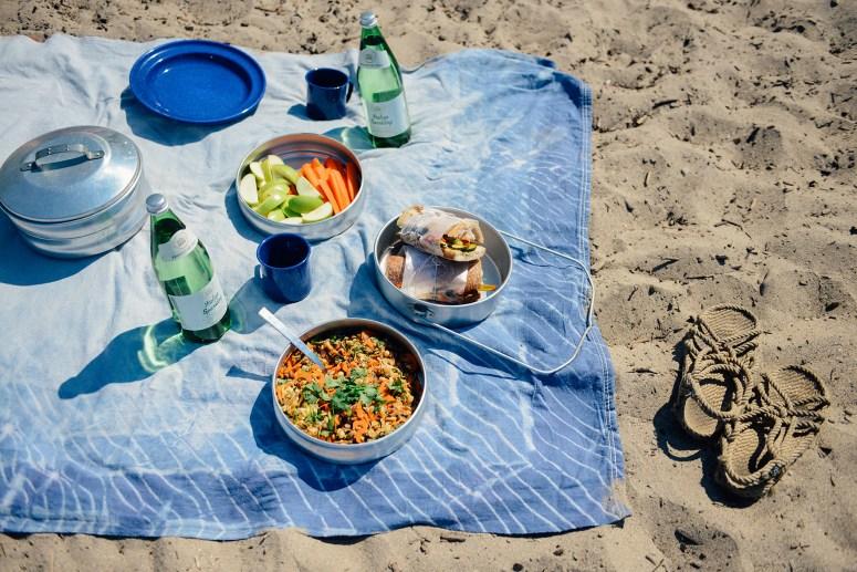 A Last Summer Hurrah: A Picnic at Lake Erie w/ a Vegan Zucchini Banh Mi & a Vietnamese Zoodle Salad