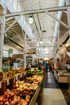 The Broad Street Market in Harrisburg, PA // www.WithTheGrains.com