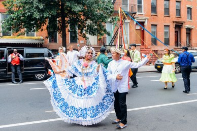 Panama Day in Crown Heights, Brooklyn // www.WithTheGrains.com