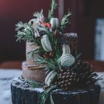 A Whole Grain Apple Cider Layer Cake Forest (Gluten Free)