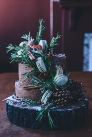 A Whole Grain Apple Cider Layer Cake Forest (Gluten Free) // www.WithTheGrains.com