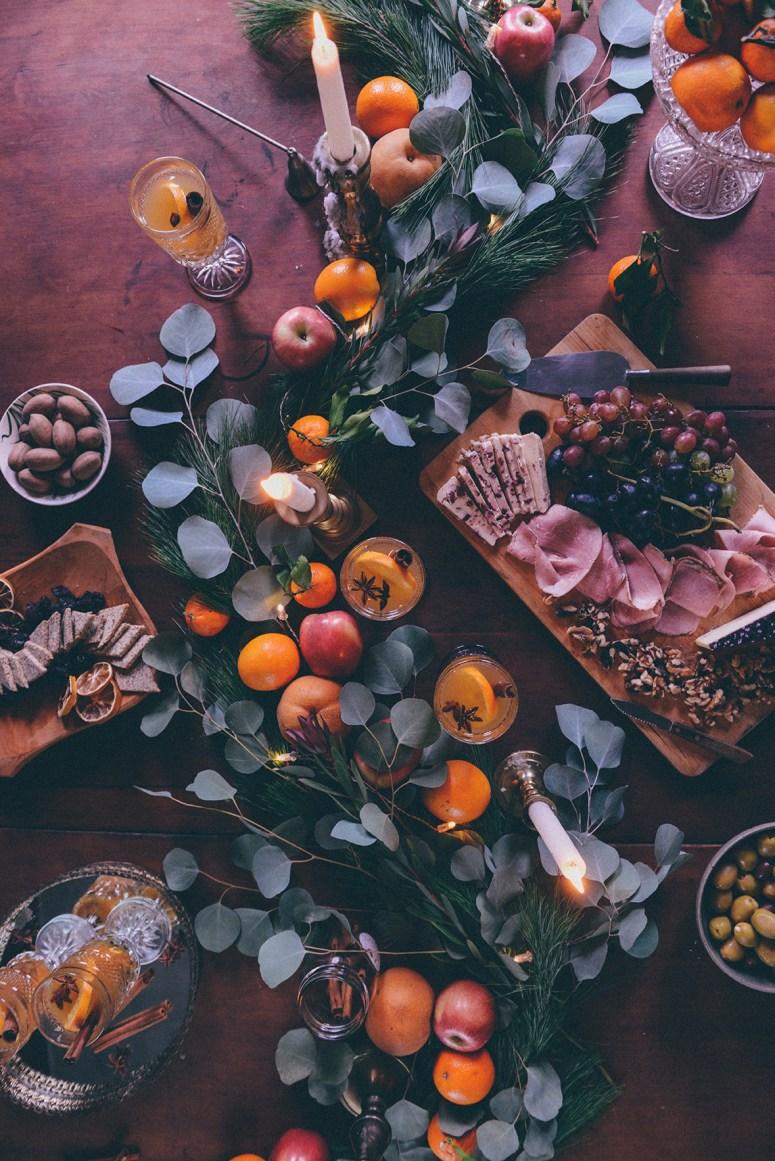 Mulled White Wine & Homemade Gluten Free Crackers for Winter Entertaining