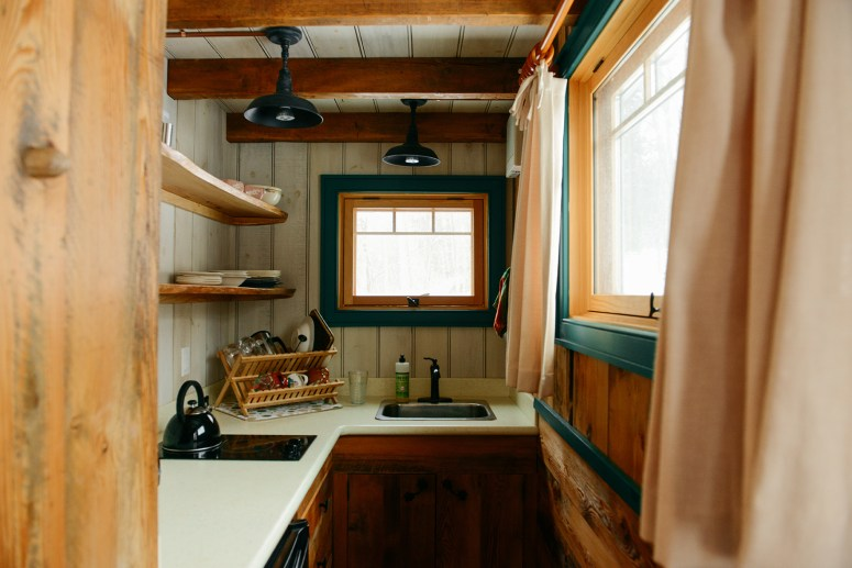 "A Tour of ""MoonShine,"" A Tiny House Cabin at Blue Moon Rising Campground"