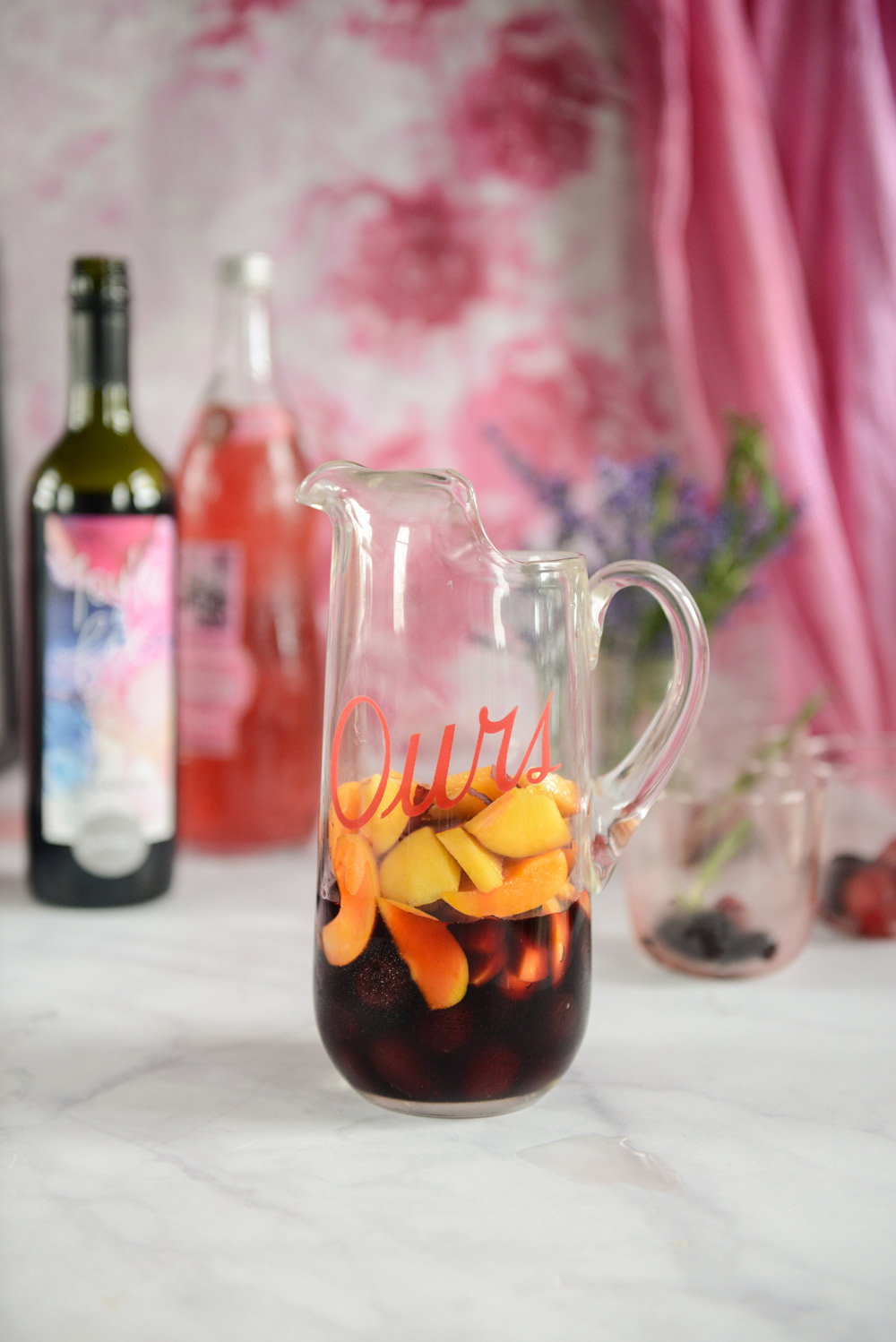 Red Wine Sangria and How To Use Leftover Sangria Fruit // www.WithTheGrains.com