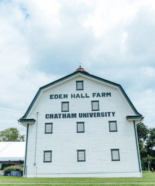 Exploring Chatham University's Eden Hall Campus // www.WithTheGrains.com