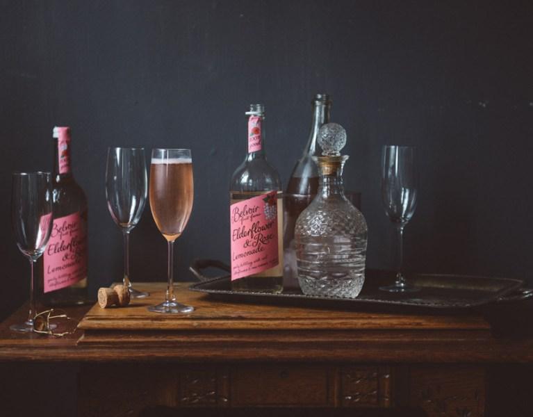 Rose Cocktails: Two Simple Cocktails feat. Belvoir Rose Elderflower Lemonade