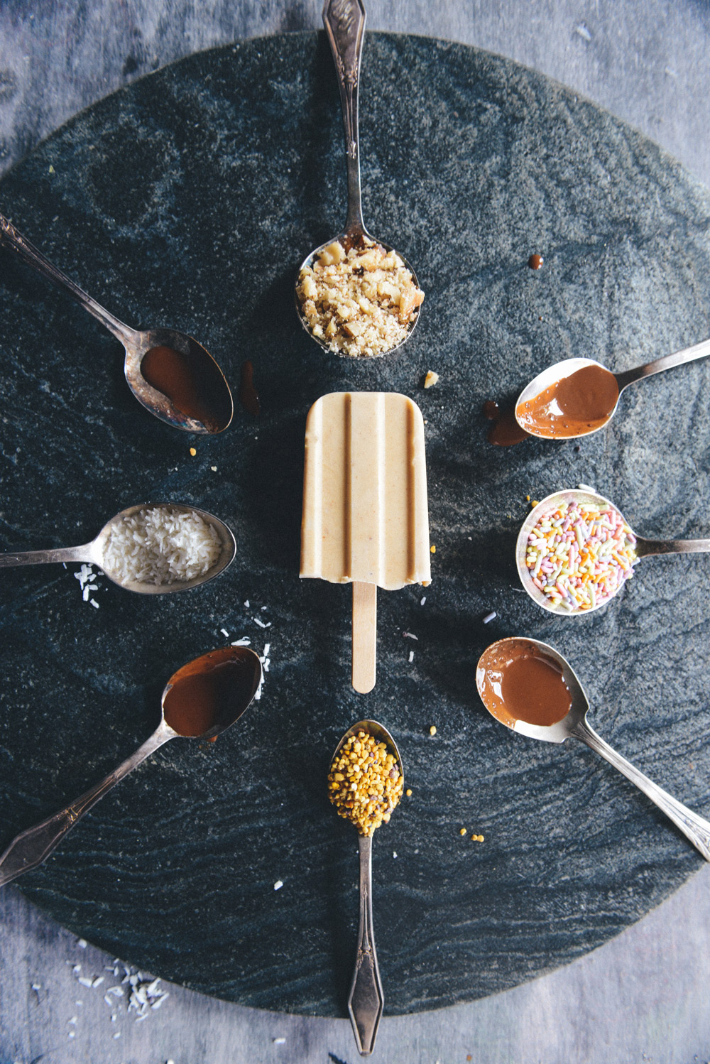 Peanut Butter Popsicles for Pups & People // www.WithTheGrains.com