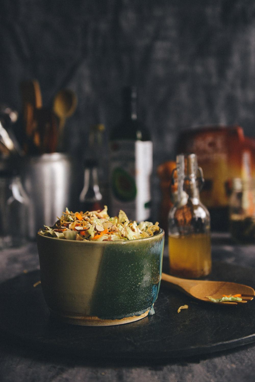 An Updated Classic: Whole Grain Ramen Noodle Salad (Vegan/Gluten Free)