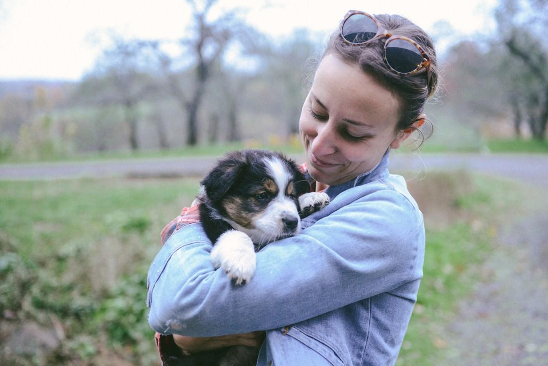 Kretschmann Family Organic Farm (Plus, A Puppy!) // www.WithTheGrains.com