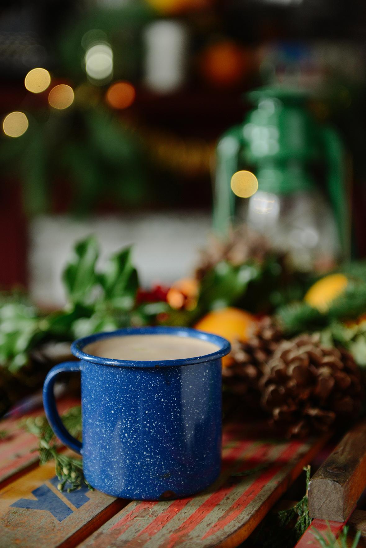 Peppermint Hot Chocolate (Vegan)