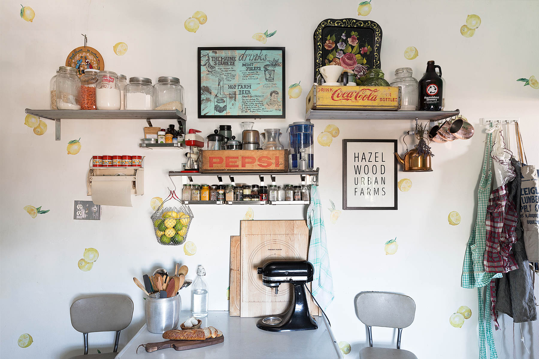 Take A Tour of Our Home + A Pumpkin Cake Recipe // www.WithTheGrains.com