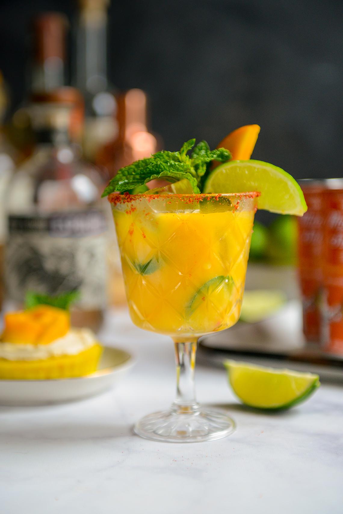 Cheers to the Weekend: Mango Jalapeño Margaritas