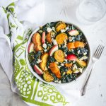 A Healthy Fall Grain Bowl with Wild Rice