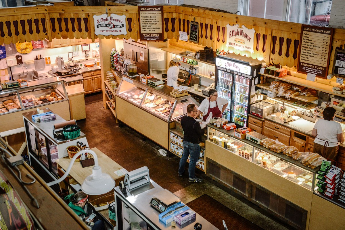 The Central Market in Lancaster, Pennsylvania // www.WithTheGrains.com