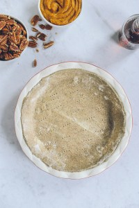 Gluten Free Whole Grain Pie Crust // www.WithTheGrains.com