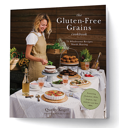 The Gluten Free Grains Cookbook // www.WithTheGrains.com