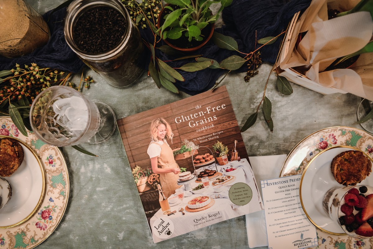 The Gluten-Free Grains Cookbook is One Week Old