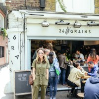 Gluten-Free Banana Tahini Porridge Inspired by London's 26 Grains