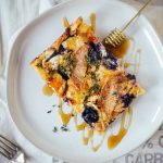 Baked Brioche French Toast for a Summer Brunch