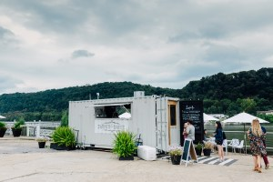 Farmer + Baker Shipping Container in Aspinwall, PA // www.WithTheGrains.com