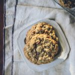 Whole Grain Chocolate Chip Pecan Cookies