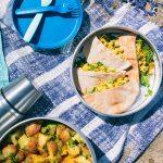 A Vegan Beach Picnic & Curried Cauliflower Wraps
