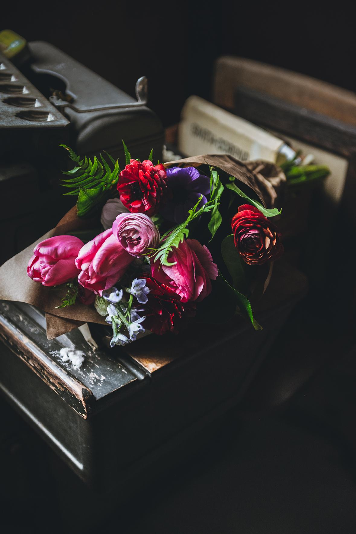 florals // www.WithTheGrains.com