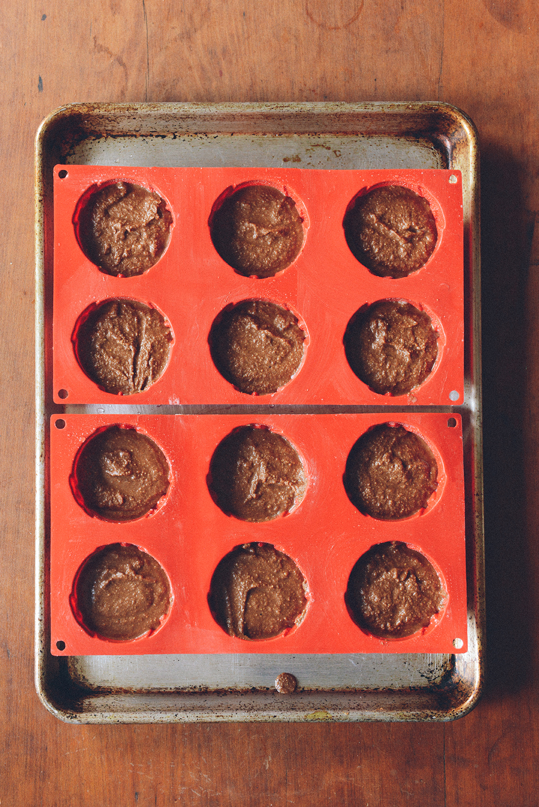 36 Cakes for 36 Years: Gluten Free Chocolate Cupcakes // www.WithTheGrains.com
