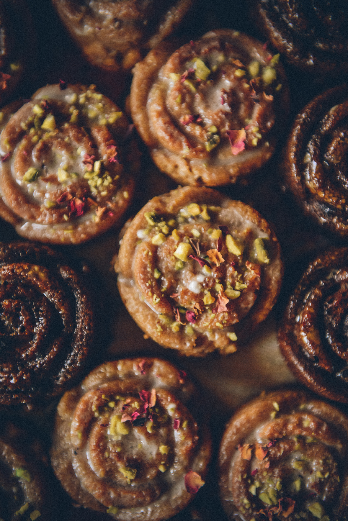 36 Cakes for 36 Years: Mini Persian Love Cakes // www.WithTheGrains.com