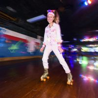 A Roller Skating Birthday Party for Me & My Inner Child