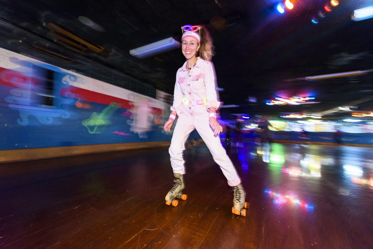 A Roller Skating Birthday Party for Me, a Grown Ass Woman // www.WithTheGrains.com