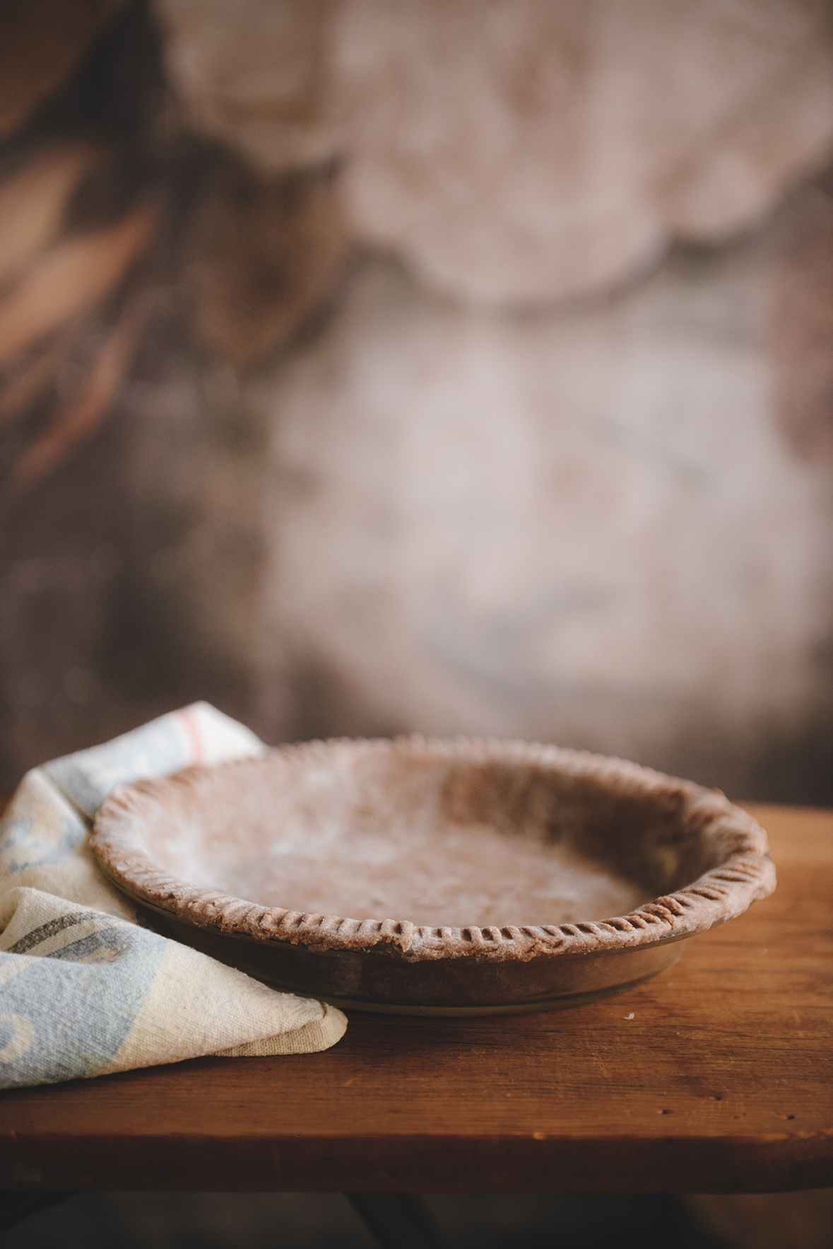Whole Grain Teff Pie Crust // www.WithTheGrains.com