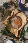 Whole Grain Peach Pie for Annie // www.WithTheGrains.com