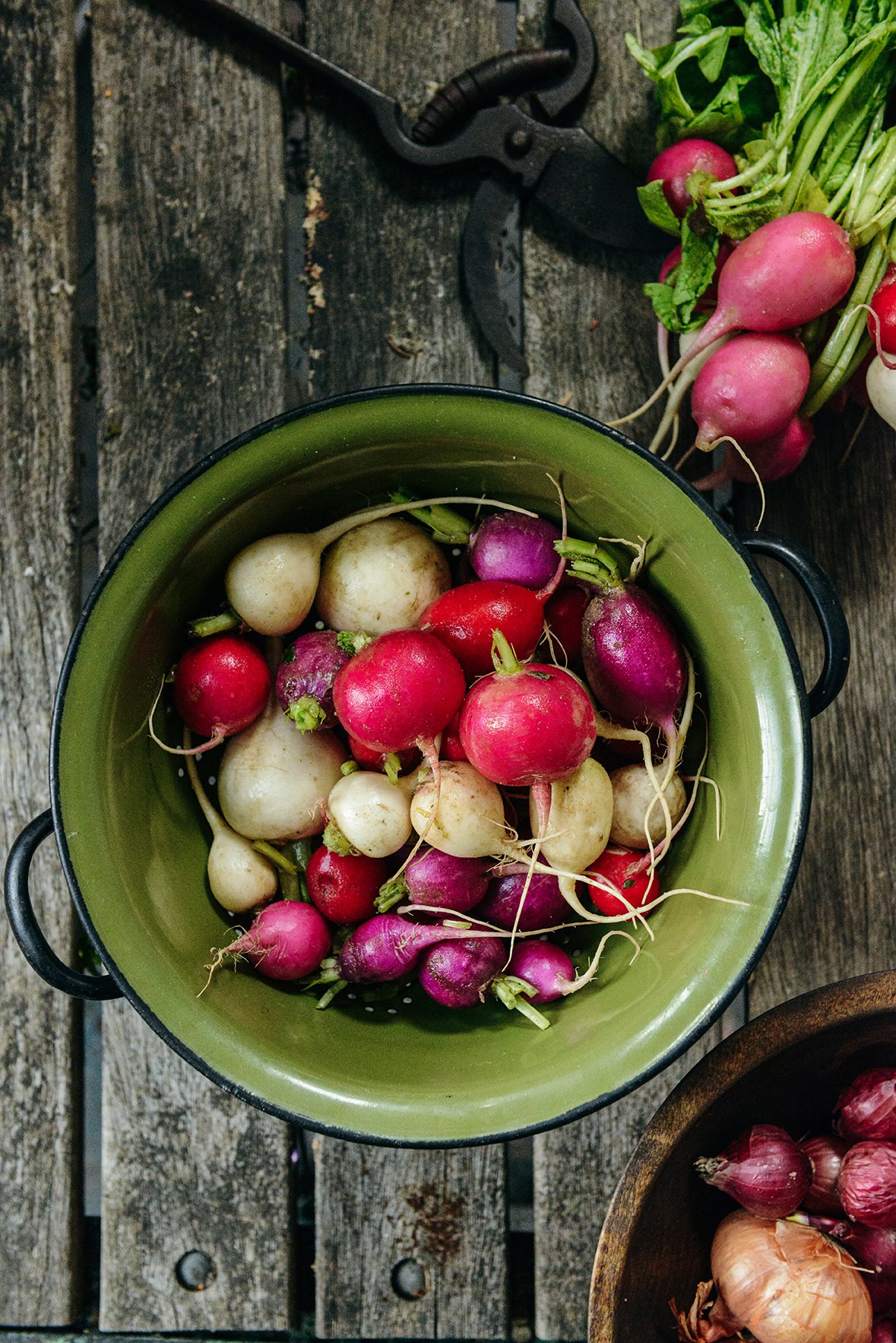 What To Do With Radishes & Zucchini Bounty // www.WithTheGrains.com
